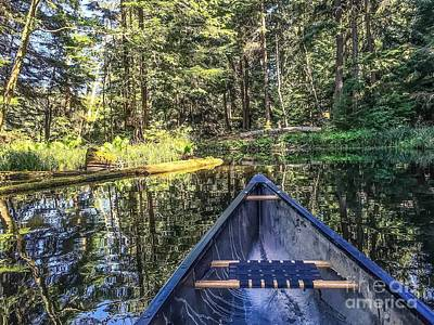 Photograph - Afternoon Paddle by William Wyckoff