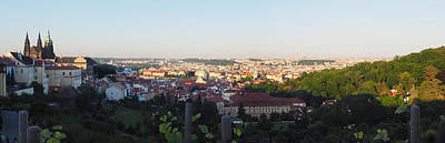 Photograph - Afternoon Prague Panorama by C H Apperson