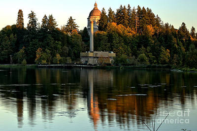 Photograph - Afternoon Reflections Of Olympia by Adam Jewell