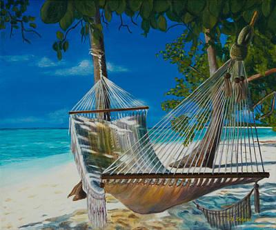 Swing Painting - Afternoon Retreat by Liz Zahara
