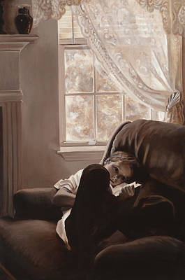 Painting - Afternoon Reverie by Katherine Huck Fernie Howard