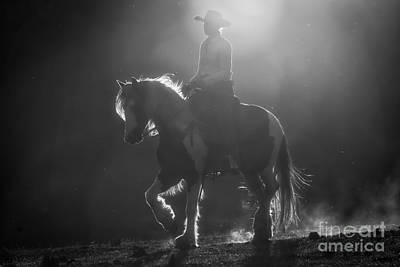Cowgirl Photograph - Afternoon Ride by Ana V Ramirez