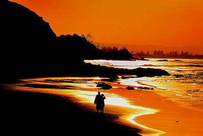 Byron Bay Photograph - Afternoon Romance by Az Jackson