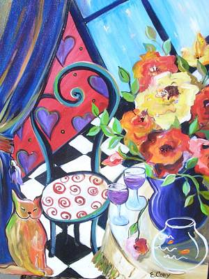 Afternoon Romance Art Print by Elaine Cory