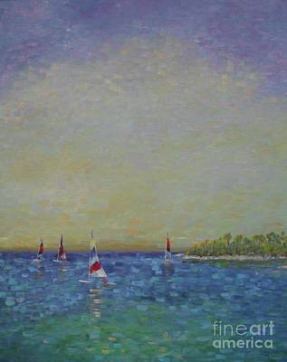 Painting - Afternoon Sailing by Gail Kent