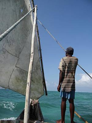 Exploramum Photograph - Afternoon Sailing In Africa by Exploramum Exploramum