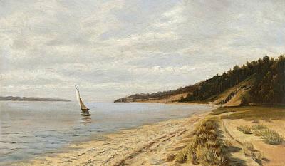 Afternoon Sailing Art Print by John Frederick Peto