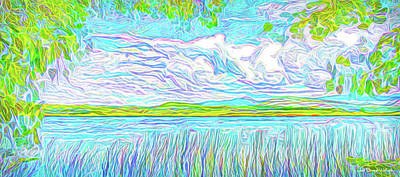 Digital Art - Afternoon Serenity by Joel Bruce Wallach