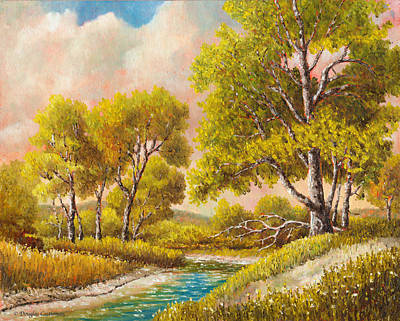 Painting - Afternoon Shade by Douglas Castleman