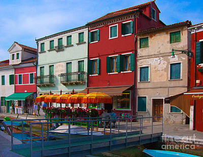 Photograph - Afternoon Stroll In Murano  by Sandra Bronstein