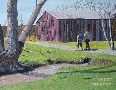 Painting - Afternoon Stroll by Norm Starks