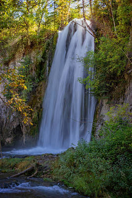 Photograph - Afternoon Sun At Spearfish Falls by Ray Van Gundy