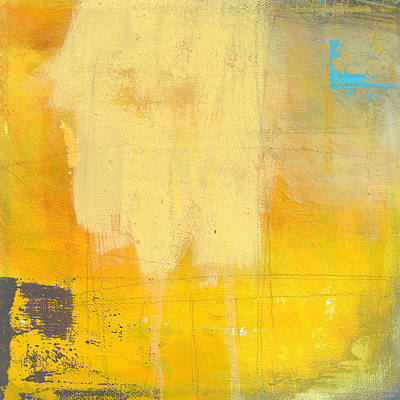 Blue Abstracts Mixed Media - Afternoon Sun -large by Linda Woods