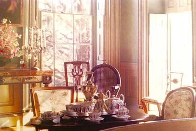 Wild Weather - Afternoon Tea in Mansion Salon by Jacqueline Manos