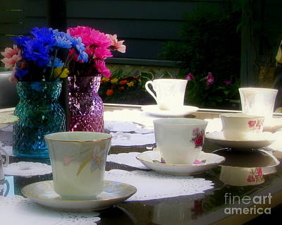 Photograph - Afternoon Tea by Leone Lund