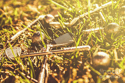 Golf Art Photograph - Afternoon Tea Off  by Jorgo Photography - Wall Art Gallery