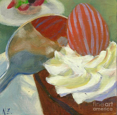 Teapot Painting - Afternoon Tea Time No.15 by Ni Zhu