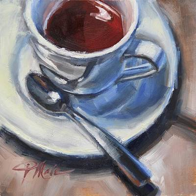 Painting - Afternoon Tea by Tracy Male