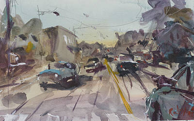 Painting - Afternoon Traffic by Robert Joyner