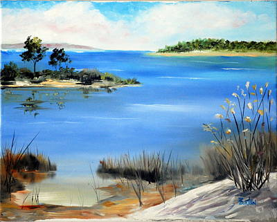 Painting - Afternoon Water by Phil Burton