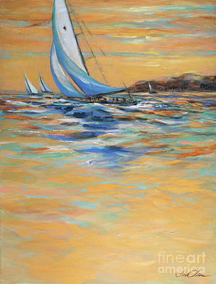 Painting - Afternoon Winds by Linda Olsen