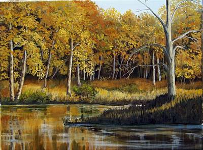 Painting - Afternoon's Golden Light by Lorraine Foster