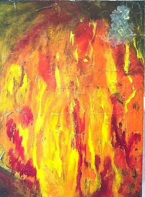 Fusionart Painting - Again by Bebe Brookman