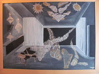 Painting - Against Balderdash For Sense by Vlado Katkic