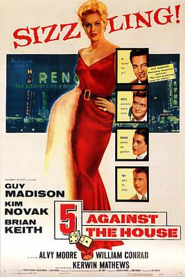 Painting - Against The House Film Noir  by R Muirhead Art