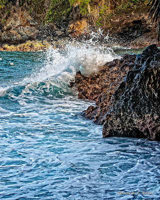 Photograph - Against The Rocks by Christopher Holmes