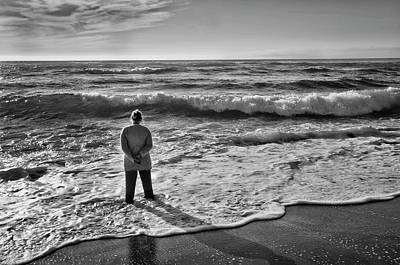 Photograph - Against The Tide by Steven Clark