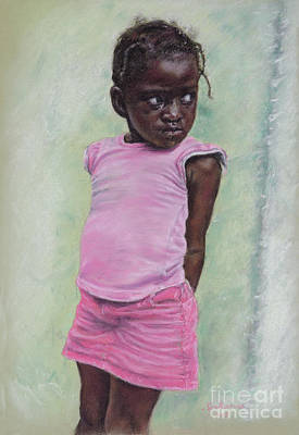 Pastel - Against The Wall by Roshanne Minnis-Eyma