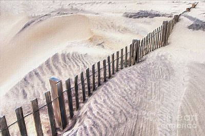 Painting - Against The Wind - Outer Banks Ap by Dan Carmichael