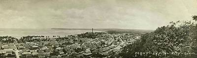 Photograph - Agana Capital Of Guam Panorama by eGuam Panoramic Photo