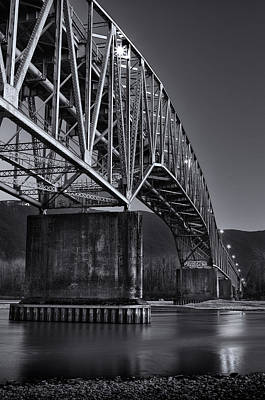 Photograph - Agassiz-rosedale Bridge by Brad Koop