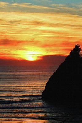 Agate Beach Oregon Photograph - Agate Beach Oregon by Tom Janca