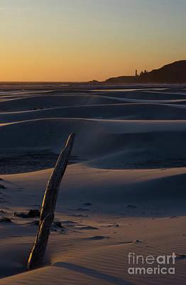 Photograph - Agate Beach Yaquina Head Lighthouse- V by Rick Bures