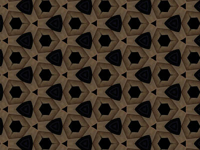 Agate Dimensions Art Print