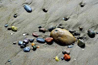 Lake Life - Agates On Bandon Beach by Michele Avanti