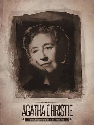 Agatha Christie 01 Art Print