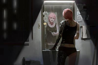 Digital Art - Agatha by Tony Sun