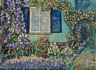 Painting - Agathas Garden by Felicia Tica