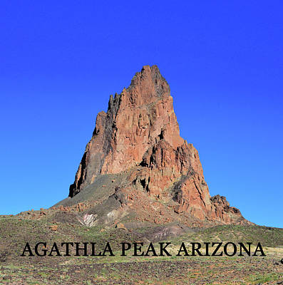 Photograph - Agathla Peak Az by David Lee Thompson