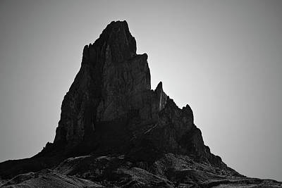 Photograph - Agathla Peak Az I Bw by David Gordon