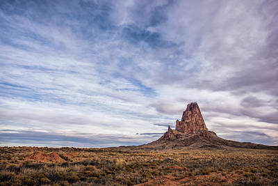 Photograph - Agathla Wakes Up by Jon Glaser