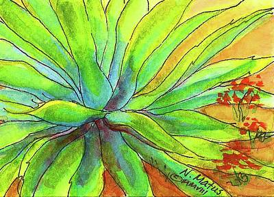 Painting - Agave 2 by Nancy Matus