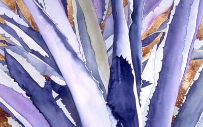 Painting - Agave 4 by Eunice Olson
