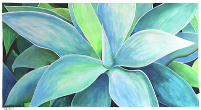 Painting - Agave #5 by Geoff Greene