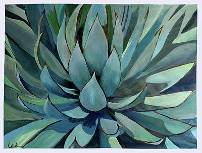 Painting - Agave Americana by Geoff Greene