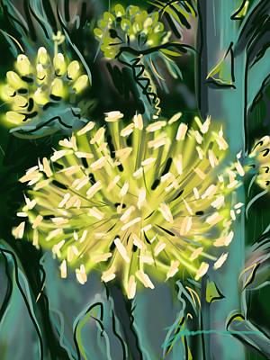 Painting - Agave Blossom by Jean Pacheco Ravinski